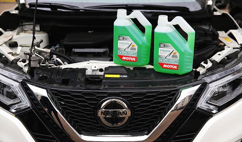 Motul стал официальным поставщиком Nissan Manufacturing Rus по незамерзающей жидкости -27С