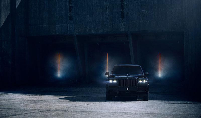 Rolls-Royce представил долгожданный Cullinan Black Badge