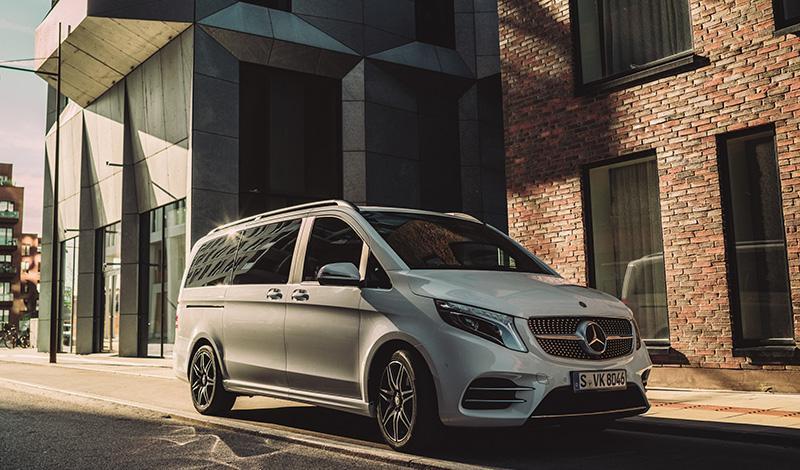 Mercedes-Benz V-Класс AMG Line 4Matic от 4 900 000 рублей