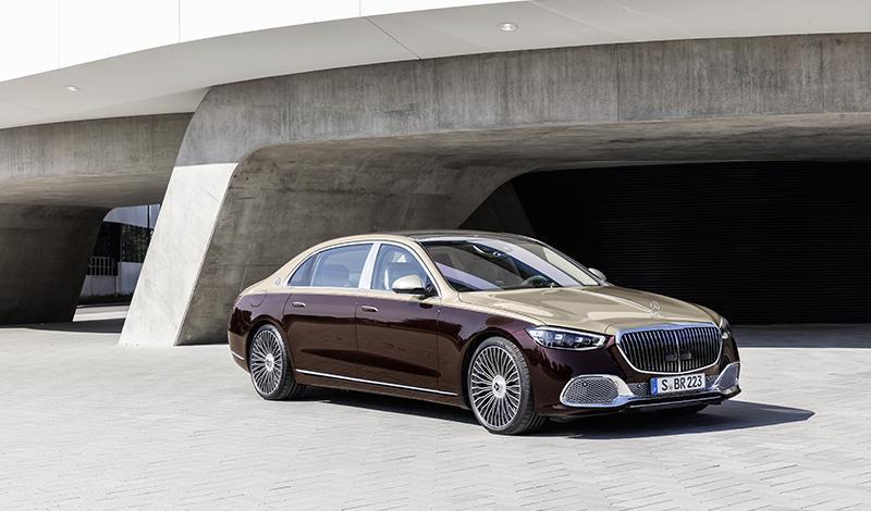 Mercedes-Maybach S-Класса 2021 представлен официально