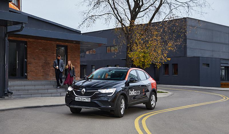 Парк BelkaCar пополнился 130 автомобилями Renault Arkana 2019
