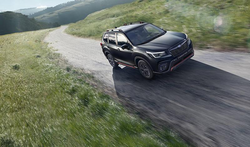 Subaru:Subaru Forester получил комплектацию Sport