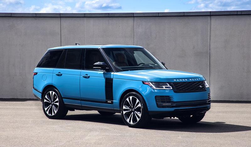 Range Rover Fifty от 10 921 000 рублей доступен к заказу