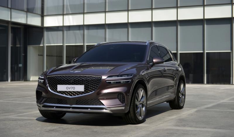 Новый Genesis GV70 2021 представлен официально