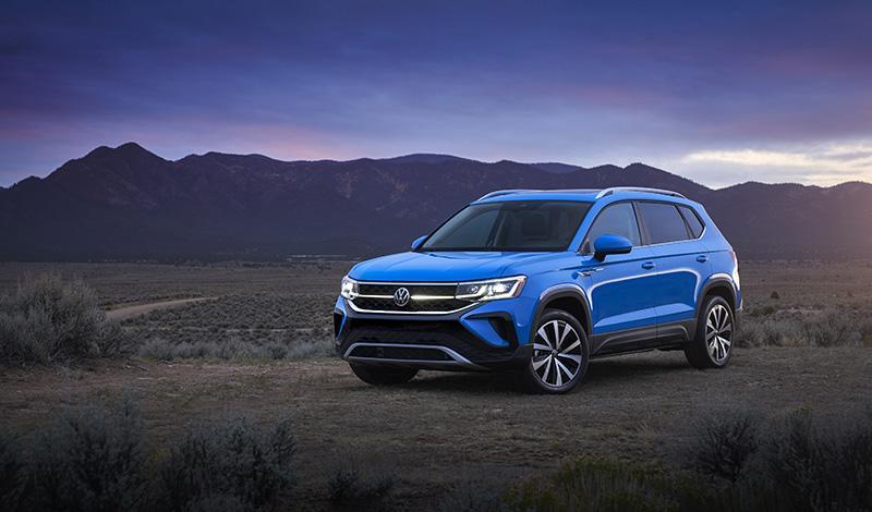 Volkswagen:Volkswagen Taos 2021 представлен официально и он будет в России