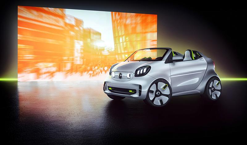 Smart:Бренд smart представит на Парижском автосалоне концепт автомобиля smart forease