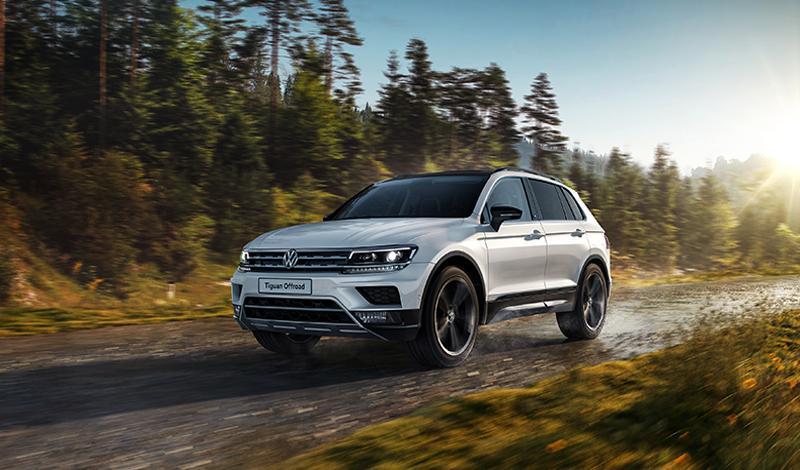 Volkswagen представляет кроссовер Tiguan в специальном исполнении OFFROAD