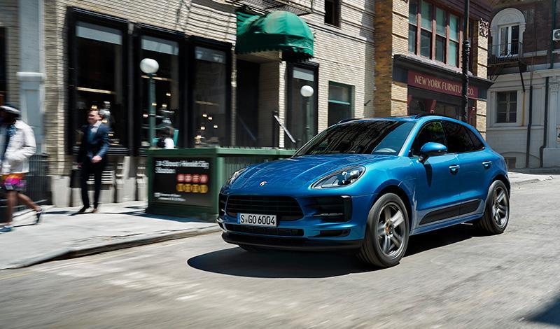 Porsche представит на автосалоне в Париже новый Macan