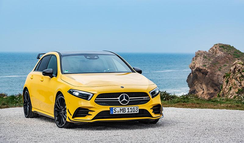Mercedes-AMG представляет новую модель A 35 4MATIC