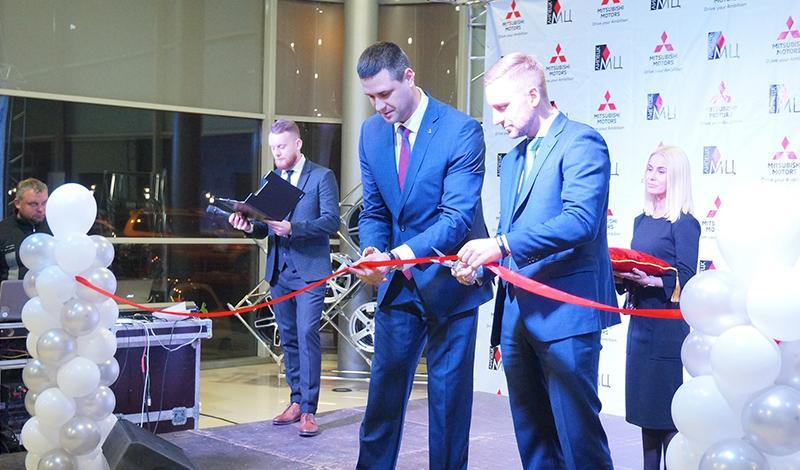 В Липецке прошло торжественное открытие дилерского центра Mitsubishi