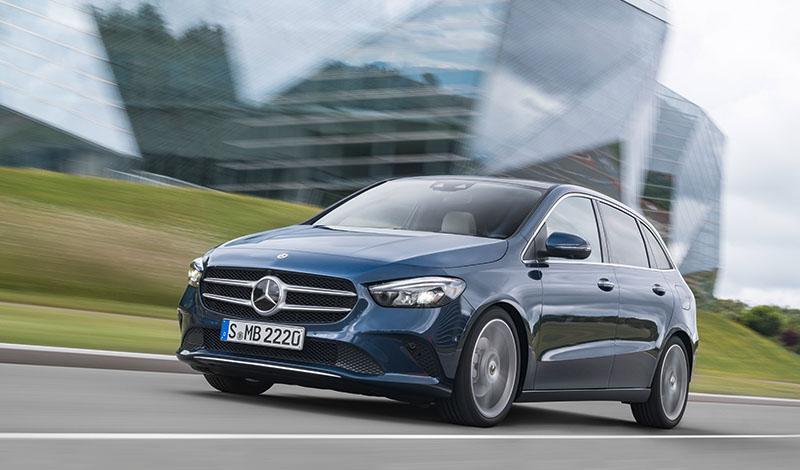 Новый спортивный хэтчбек Mercedes-Benz B-Класса 2019 модельного года