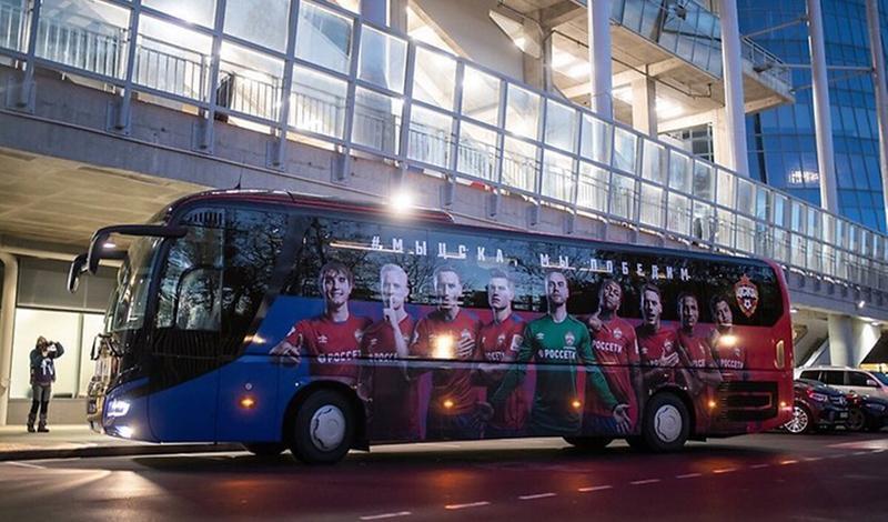 Компания MAN Truck & Bus передала туристический лайнер MAN Lion`s Coach нового поколения Профессиональному футбольному клубу ЦСКА