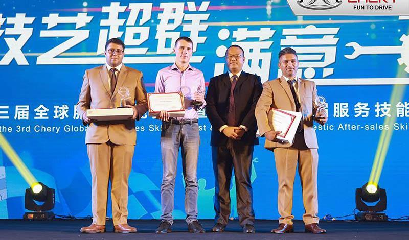 Chery:Команда CHERY RUSSIA получила второе место в международном конкурсе CHERY «Super Skilled — 2018