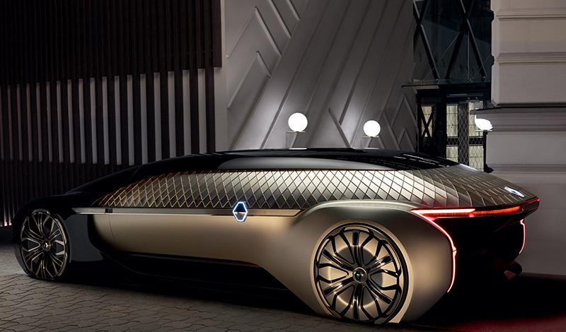 Renault представил на Парижском автосалоне концепт EZ-ULTIMO