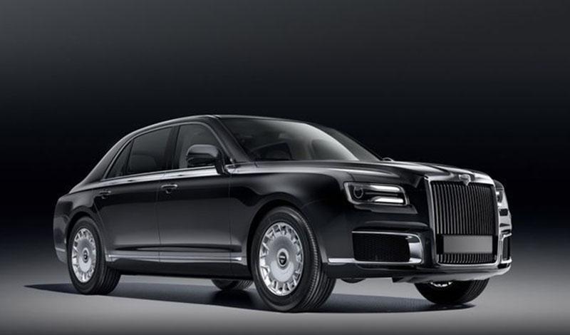 Новый российский автомобиль класса люкс AURUS SENAT представили в Сочи