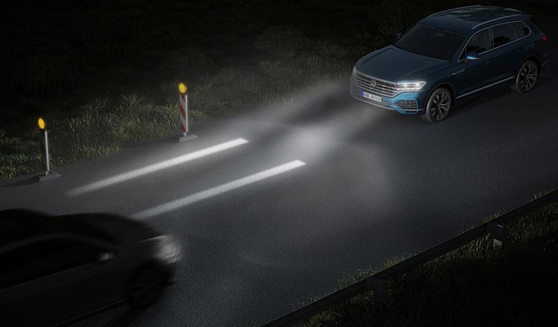 Volkswagen демонстрирует новую систему освещения