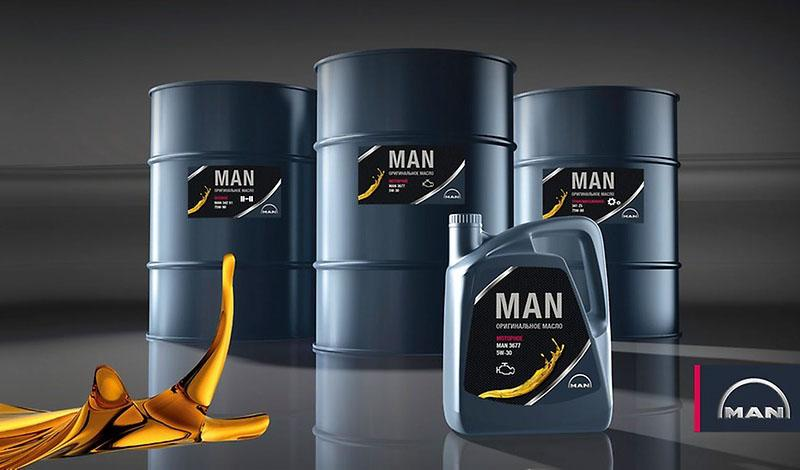 Оригинальное масло MAN доступно в России