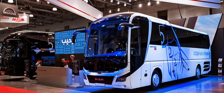 На выставке Busworld Russia 2018 представлены туристические автобусы марок MAN и NEOPLAN