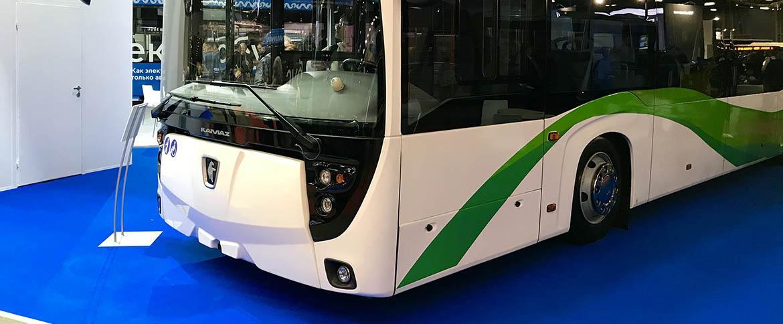 «КАМАЗ» принял участие в выставке автобусной техники Busworld Russia-2018