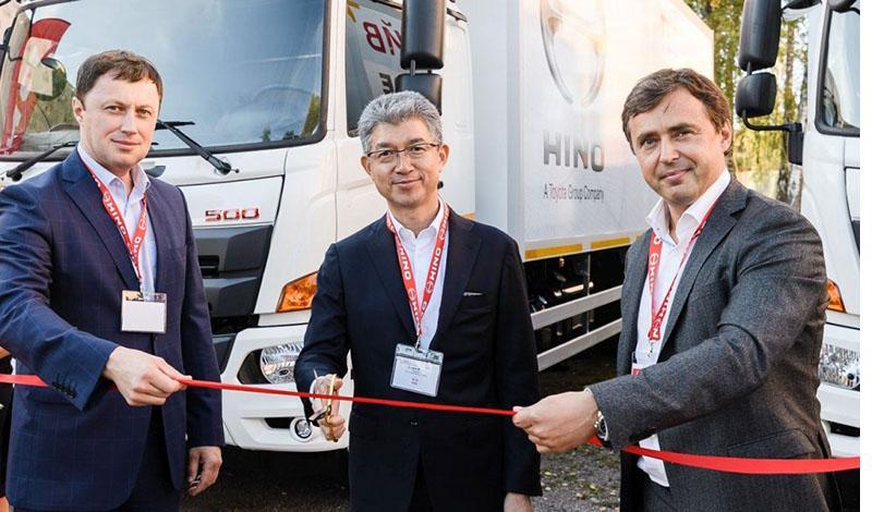 HINO запустила продажи обновленной грузовой модели 500 GH