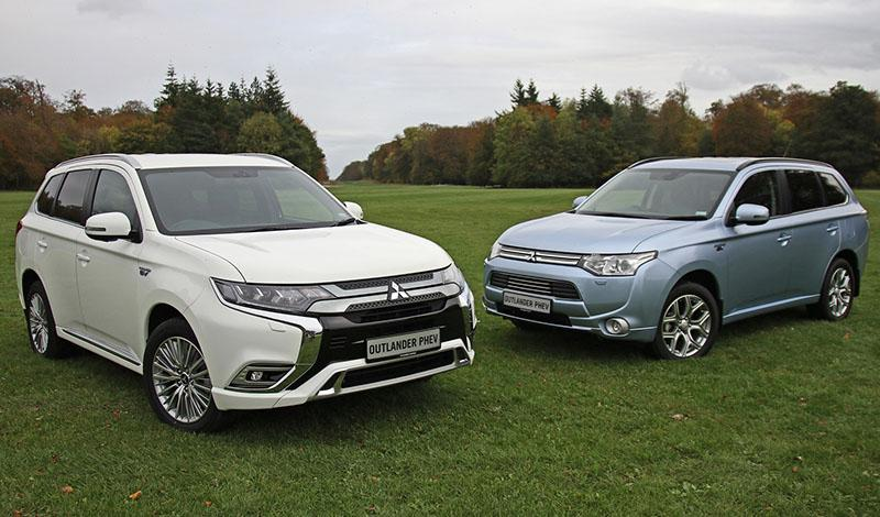 Mitsubishi Outlander PHEV - лидирующие позиции среди электрокаров