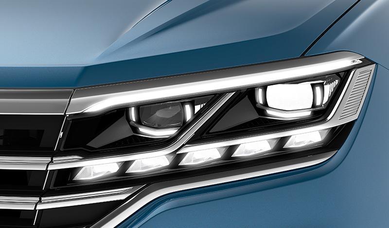 Новые интерактивные светодиодные фары для Volkswagen Touareg