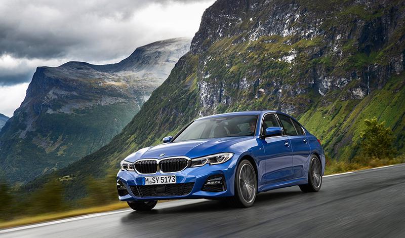 BMW представит на автосалоне в Париже новый седан 3 серии