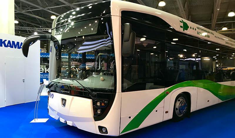 Kamaz:«КАМАЗ» принял участие в выставке автобусной техники Busworld Russia-2018