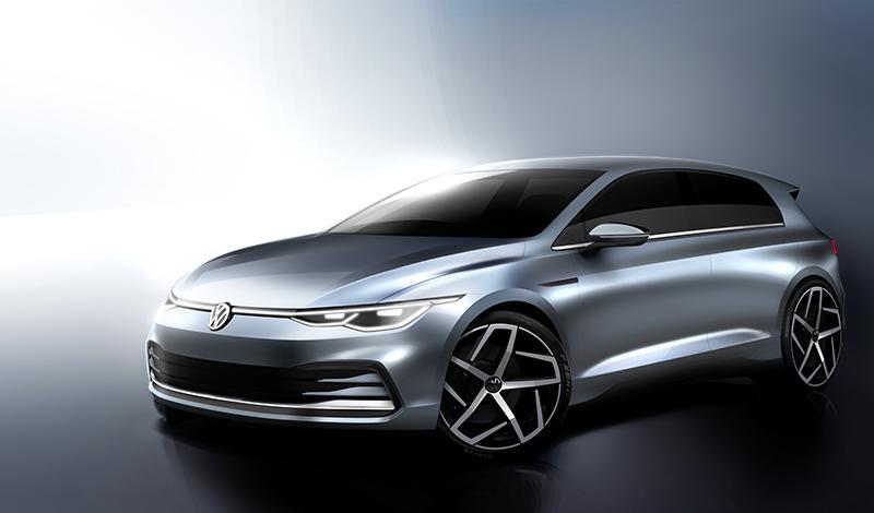 Volkswagen представит Golf 8 поколения 24 октября 2019