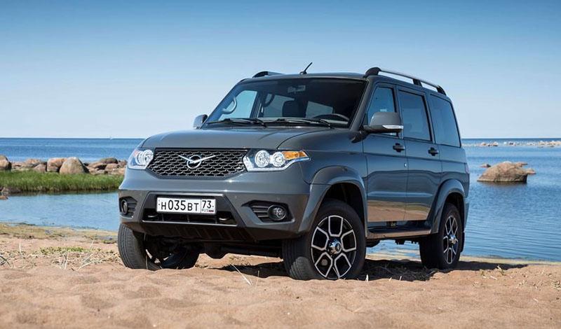 UAZ:1 октября 2019 стартовали продажи УАЗ Патриот с автоматической КПП
