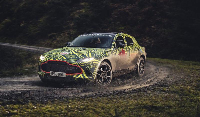Aston Martin DBX появится в России  летом 2020 года