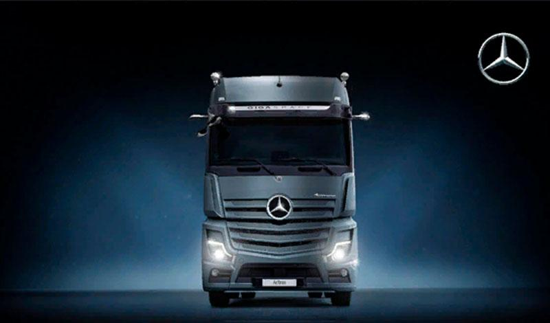 Mercedes-Benz выводит на рынок РФ обновленный Mercedes-Benz Actros