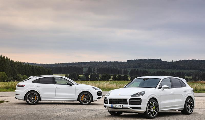 Porsche:Старт продаж Cayenne E-Hybrid Coupé