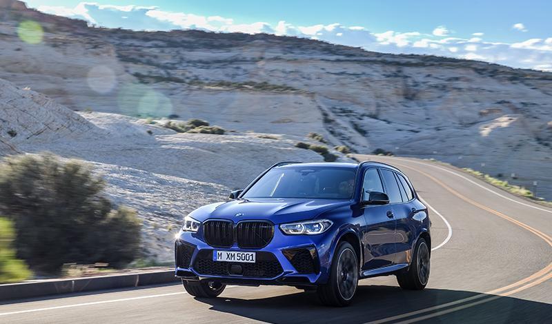 BMW представил новый BMW X5 M