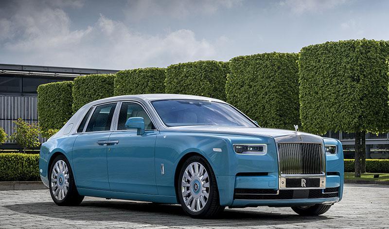 Rolls-Royce:Horology Phantom, Digital Soul Phantom и Arabian Gulf Phantom - Rolls-Royce представил серию эксклюзивных Rolls-Royce Phantom