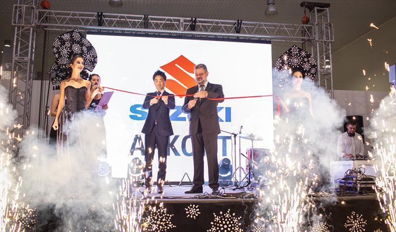 На ул. Вильнюсская, 42   открылся новый дилерский центр Suzuki