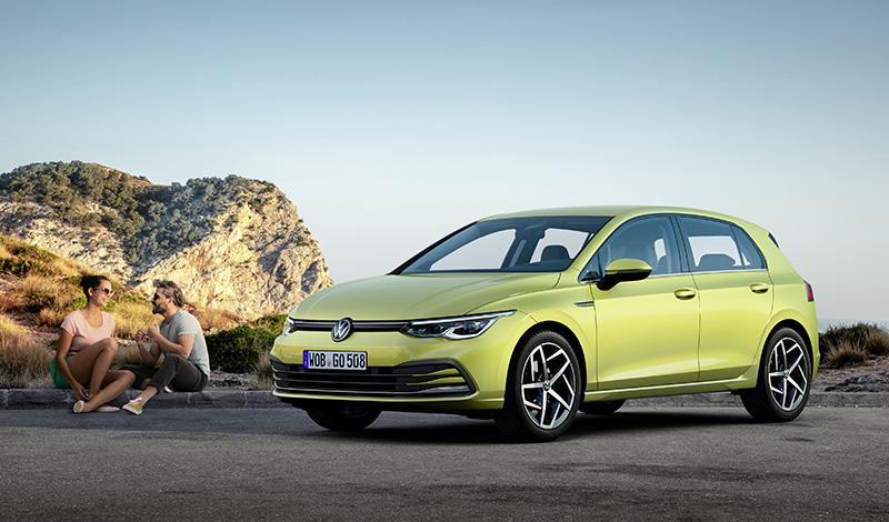 Volkswagen представил Golf 8 поколения