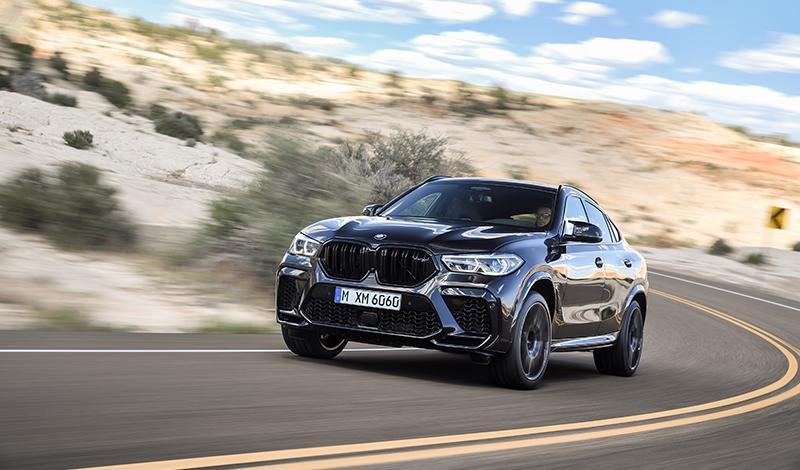 BMW представил новый BMW X6 M