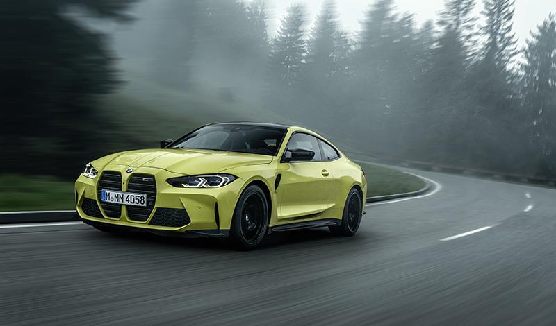 BMW М4 2021 представлен официально