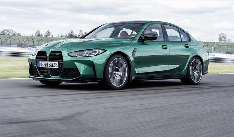 BMW M3 2021 представлен официально