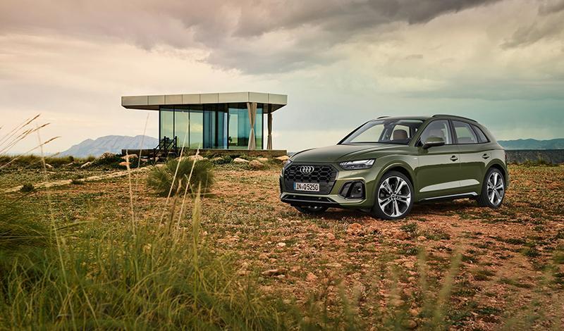 Парк сервиса Audi Drive пополнился обновленным Audi Q5