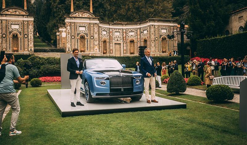 Мировая премьера Rolls-Royce Boat Tail