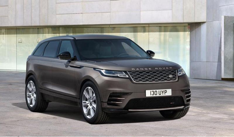 Auric Edition — новая версия для Rover Range Rover Velar