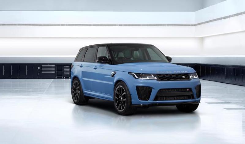 Range Rover Sport SVR Ultimate: уникальные цвета доступны к заказу