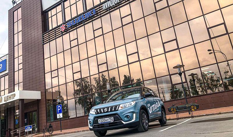 Новый дилерский центр Suzuki открылся в г. Чебоксарах