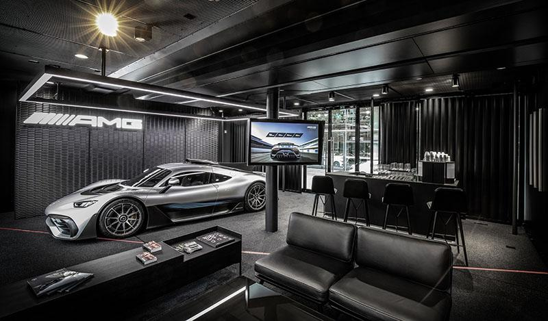 Mercedes показал будущий гиперкар Mercedes-AMG ONE
