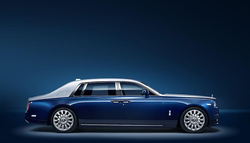 Rolls-Royce Motor Cars представили разработку для нового Phantom – «Privacy Suite»