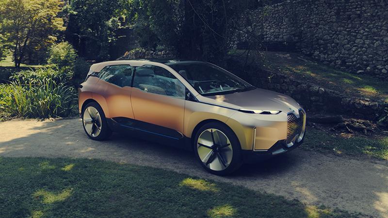 BMW показал будущий новый высоко автоматизированный концепт Vision iNEXT