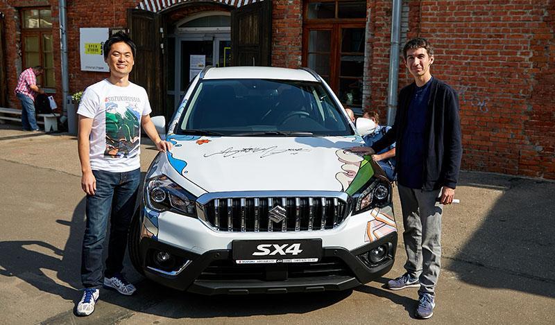 Suzuki:Suzuki представила эксклюзивную версию SX4