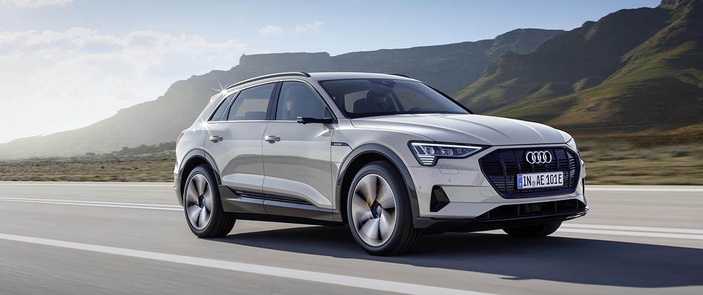 Audi представляет первый серийный электромобиль e-tron